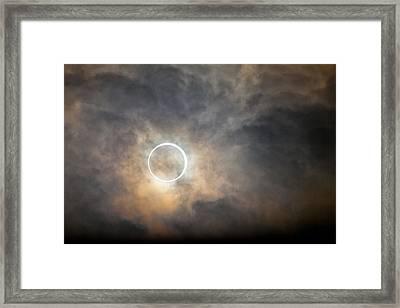 Tokyo Annular Solar Eclipse 2012 Framed Print by Alexandre Tremblot de La Croix