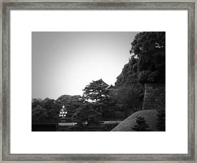 Tokyo Imperial Palace Framed Print by Naxart Studio