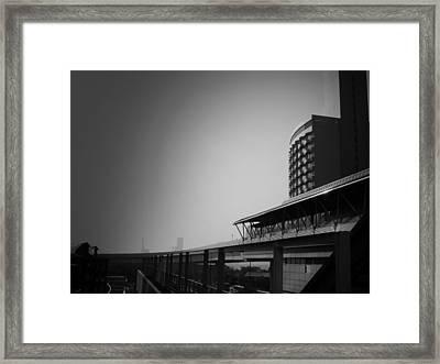 Tokyo Metro Station Framed Print by Naxart Studio