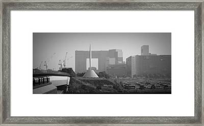 Tokyo New Constraction Framed Print by Naxart Studio