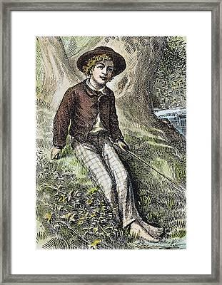 Tom Sawyer, 1876 Framed Print by Granger