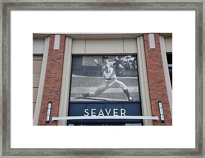 Tom Seaver 41 Framed Print by Rob Hans