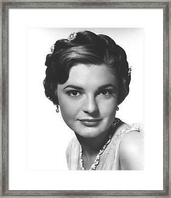 Tonight We Sing, Anne Bancroft, 1953 Framed Print by Everett