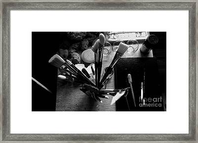 Tools Of The Trade Framed Print by Andrew Jackson