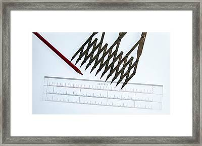 Tools Of The Trade Framed Print by Guy Whiteley