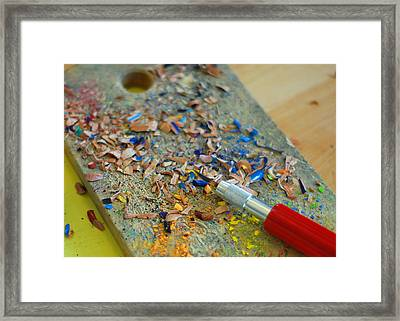 Tools Of The Trade Framed Print by Lisa Phillips