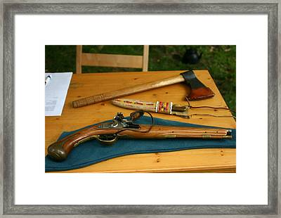 Tools Of The Traders Framed Print by Vincent Duis