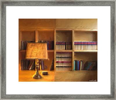 Top Pot's Library Framed Print by Heidi Smith