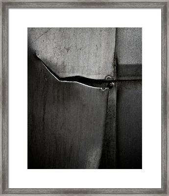 Torn Curtain Framed Print by Odd Jeppesen