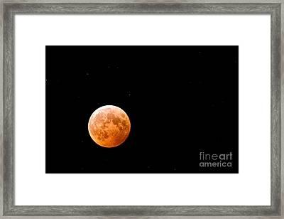 Total Lunar Eclipse Framed Print by Matt Suess