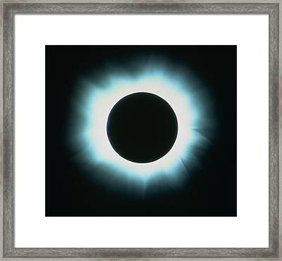 Total Solar Eclipse, February 1980 Framed Print by George East