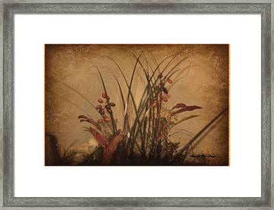 Touch Of Elegance Framed Print by Sherri  Of Palm Springs