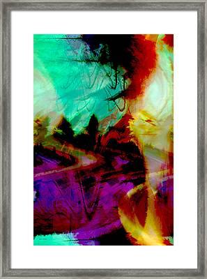 Touch Of The Sun Framed Print by Linda Sannuti