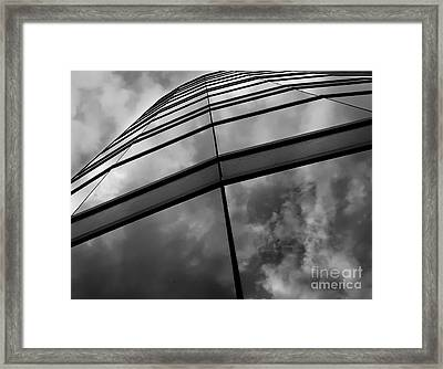 Touch The Clouds Framed Print by Steven Milner