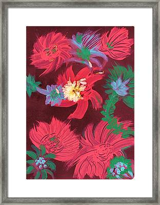 Touches Of Whimsy II Framed Print by Anne-Elizabeth Whiteway