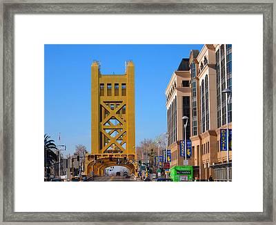 Tower Bridge 4 Framed Print by Barry Jones