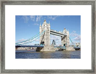 Tower Bridge Framed Print by Richard Newstead