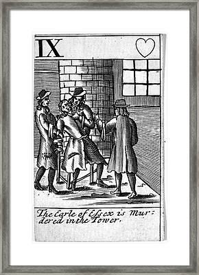 Tower Of London: Murder Framed Print by Granger