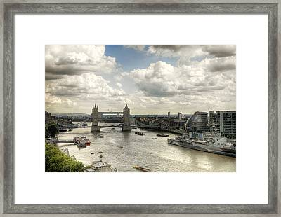 Tower View Framed Print by Gregory Warran
