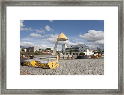 Town Square In Rakvere Framed Print by Jaak Nilson