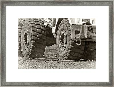 Traction Framed Print by Patrick M Lynch