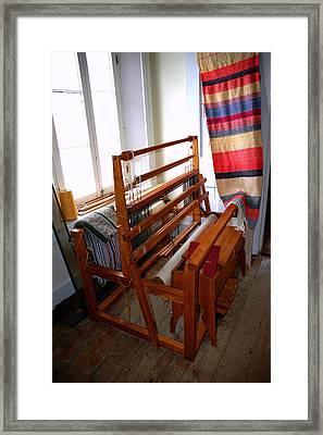 Traditional Weavers Loom Framed Print by LeeAnn McLaneGoetz McLaneGoetzStudioLLCcom