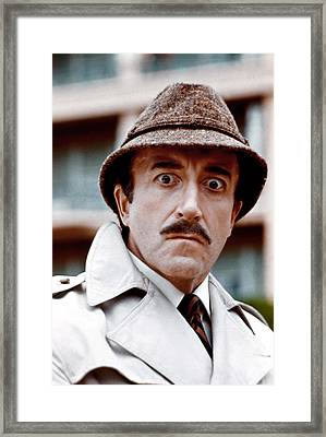 Trail Of The Pink Panther, Peter Framed Print by Everett