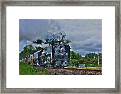 Train 844 Framed Print by Joseph Porey
