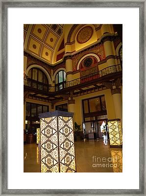Trainstation Hotel Nashville Framed Print by Susanne Van Hulst