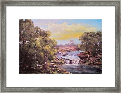 Tranquil Place Framed Print by Michael Mrozik