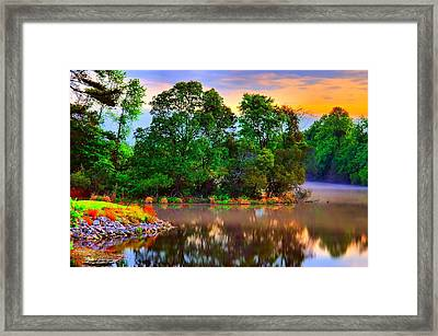 Tranquility  Framed Print by Ken Beatty