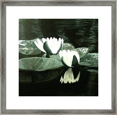 Tranquility Framed Print by Melissa Torres