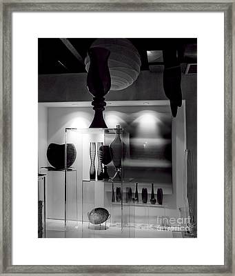 Transparency II Framed Print by Arne Hansen