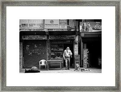 Travel Framed Print by Ronnie Abraham