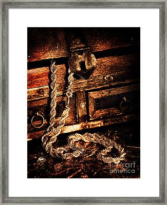 Treasure Box Framed Print by HD Connelly