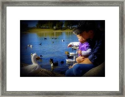 Treasure The Memories Framed Print by Amanda Eberly-Kudamik
