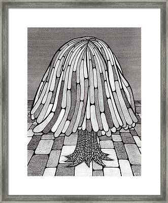 Tree Framed Print by Gregory Grant