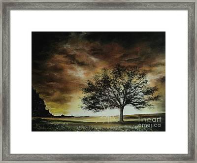 Tree Of Life Framed Print by Carla Carson