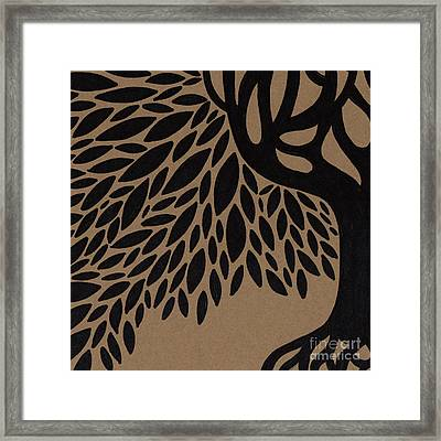 Tree Of Life Framed Print by HD Connelly