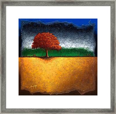 Tree Of Life Framed Print by Mauro Celotti