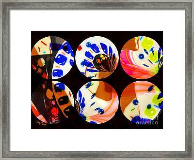 Tres 2 Framed Print by Cheryl Young