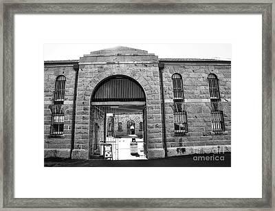 Trial Bay Jail Framed Print by Kaye Menner