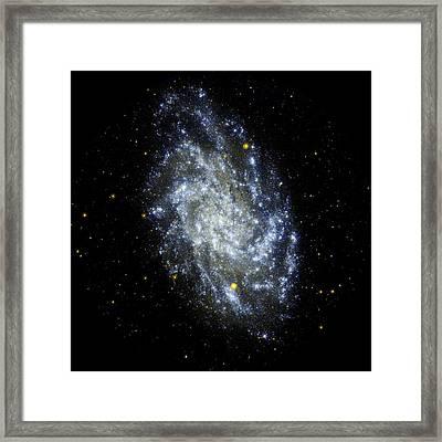 Triangulum Galaxy (m33) Framed Print by Jpl-caltechnasa