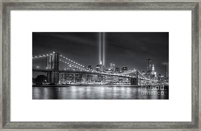Tribute In Light Vi Framed Print by Clarence Holmes