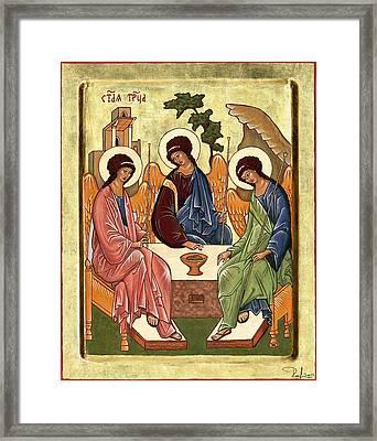Trinity Framed Print by Raffaella Lunelli
