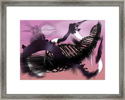 Tristan Framed Print by Foltera Art