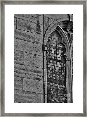 Tron Framed Print by Mark Johnstone