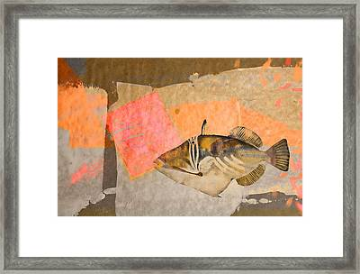 Underwater Diva Framed Print featuring the digital art Tropical Dream Number 2 by Carol Leigh