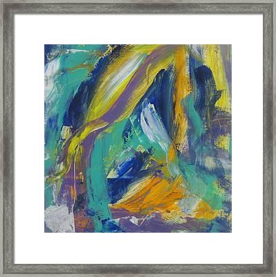 Tropicana 2 Framed Print by Anita Burgermeister