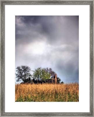 Trouble Brewing II Framed Print by JC Findley